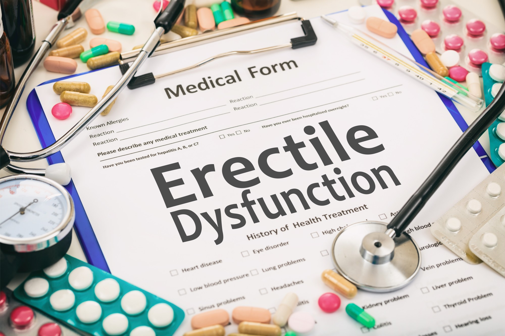 erectile dysfunction test